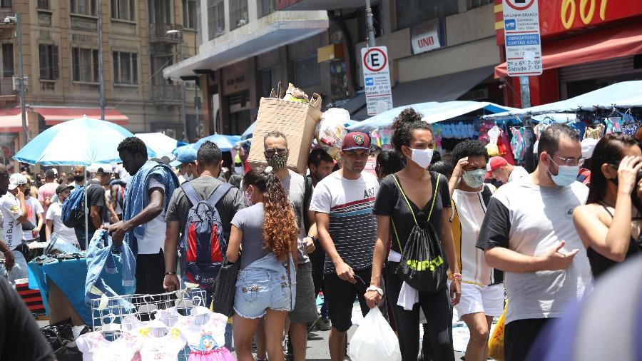 De acordo com a federação, São Paulo perdeu 27,8 mil empregos entre março de 2020 e março de 2021 - Renato S. Cerqueira/Estadão Conteúdo
