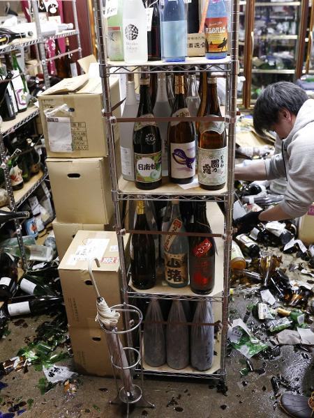 Terremoto atinge Japão e causa alguns estragos - Kyodo/via REUTERS
