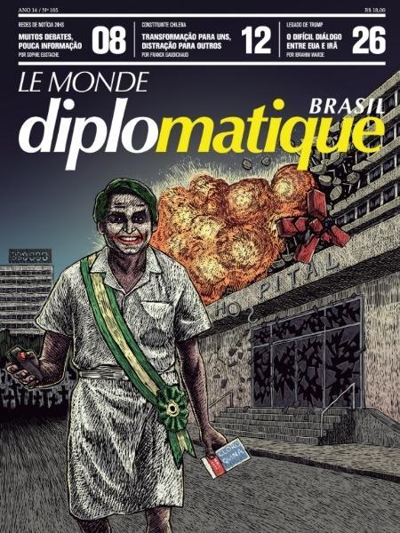 A capa do Le Monde Diplomatique Brasil - Reprodução