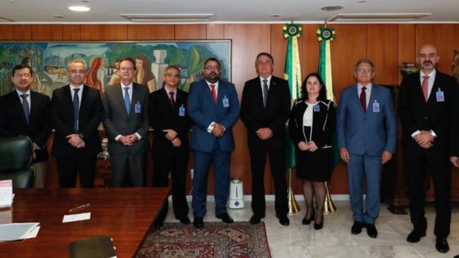 Diretoria da Anajure entregou carta a Jair Bolsonaro em outubro - Isac Nóbrega/PR