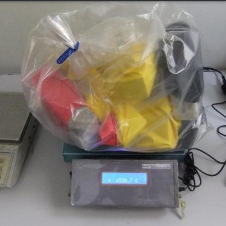 Droga enviada pelo correio apreendida em penitenciária em Tremembé (SP) - Divulgação/SSP