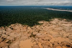 Corrida ilegal pelo ouro está destruindo a Amazônia, mostra estudo (Foto: Tomas Munita/The New York Times)