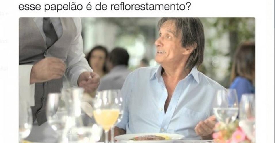 Memes da carne: Roberto Carlos