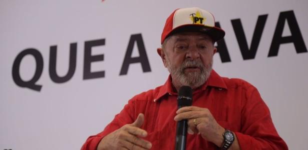 Lula em março, durante seminário do PT sobre a Lava Jato