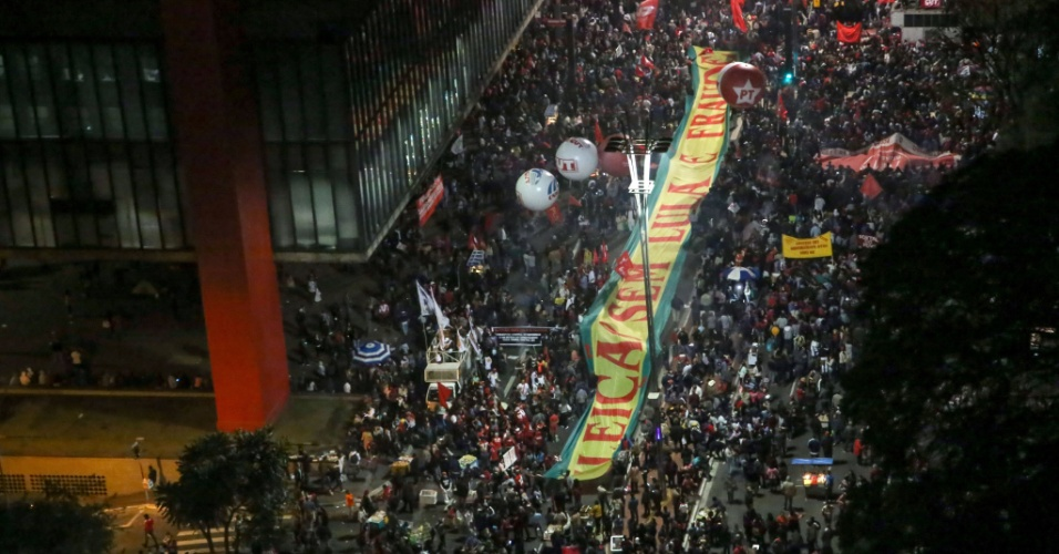 20.jun.2017 - ato pró-Lula