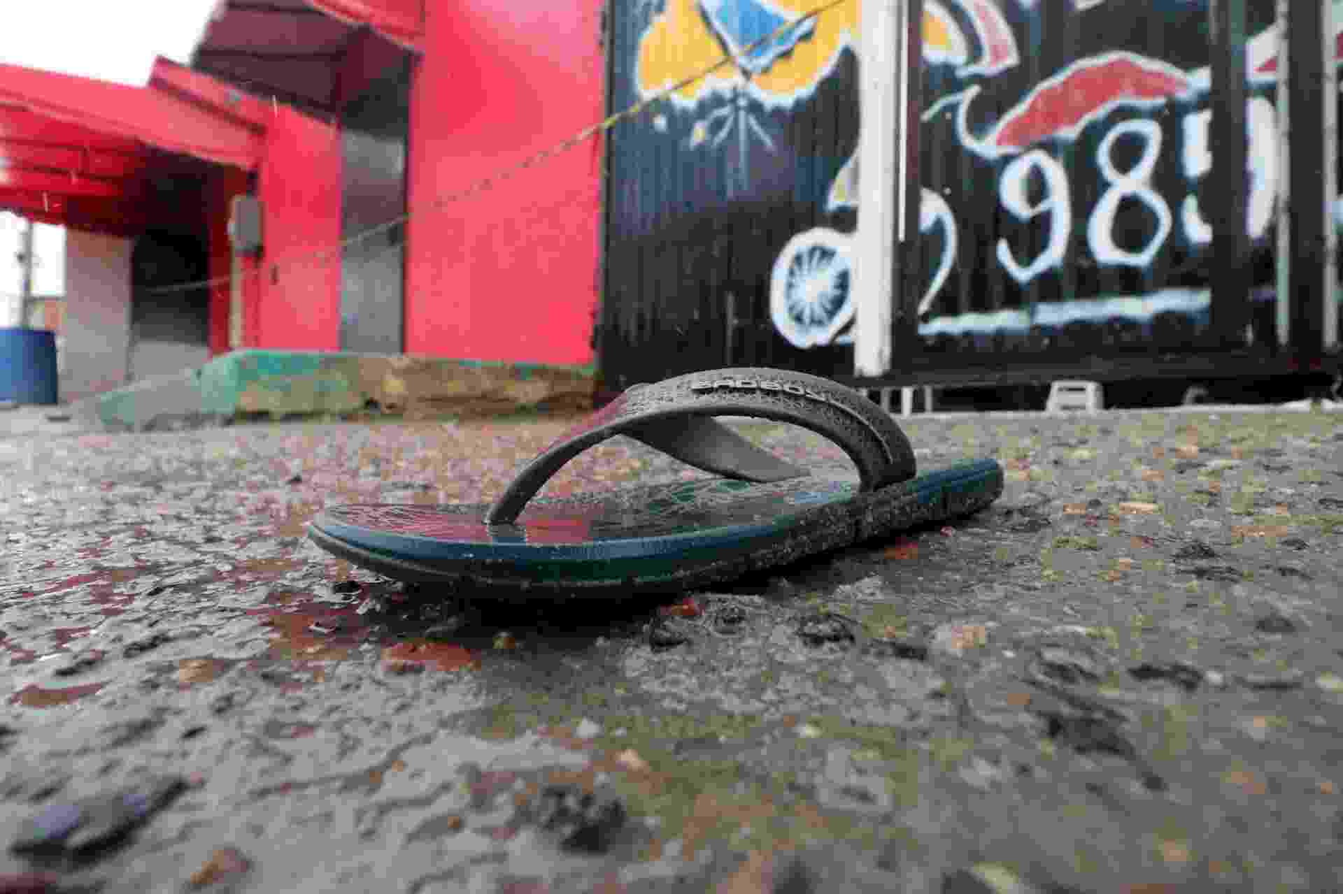 27.jan.2018 - Disputa entre facções em Fortaleza termina em chacina em uma casa de shows na madrugada deste sábado - Rodrigo Carvalho/AFP