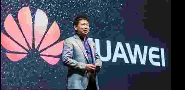 O CEO da Huawei, Richard Yu, já reclamou publicamente das acusações de espionagem do governo americao - Reprodução