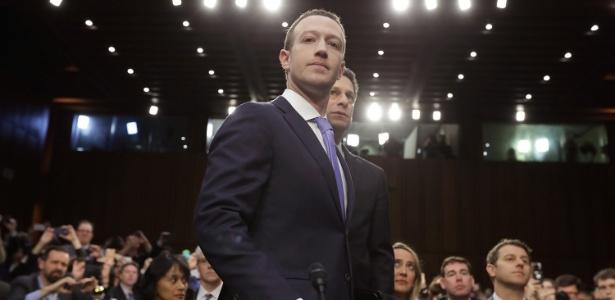 Zuckerberg deu depoimento ao Congresso dos Estados Unidos