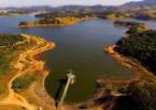 Mesmo com obras, nível do Sistema Cantareira é menor que em 2013 (Foto: Luis Moura/Estadão Conteúdo)