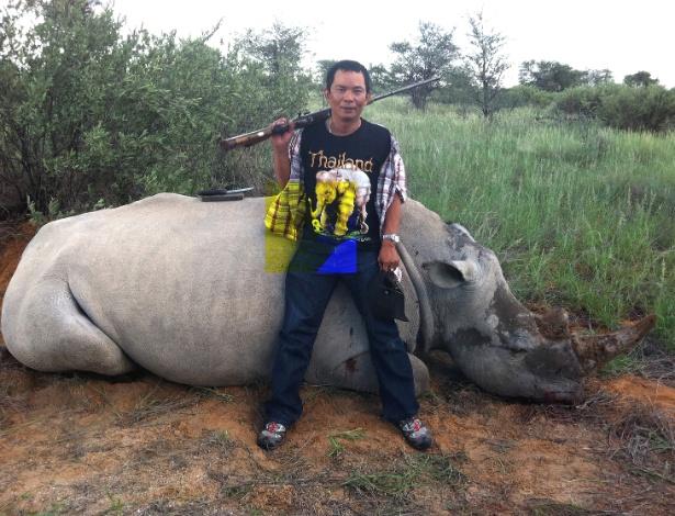 Chumlong Lemtongthai, um cidadão tailandês condenado na África do Sul por um esquema de caça a rinocerontes - The New York Times