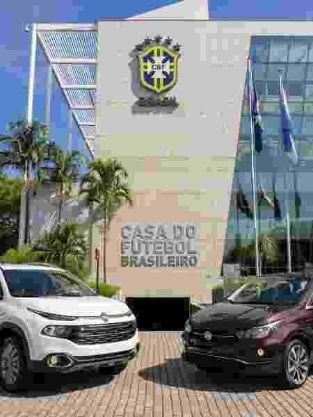 A Fiat será patrocinadora da CBF pelos próximos quatro anos - Divulgação