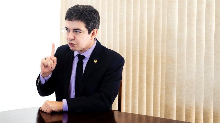 Senador Randolfe Rodrigues (Rede-AP) é o vice-presidente da CPI da Covid - Diego Bresani/UOL