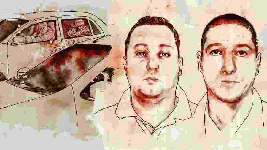 Élcio Vieira de Queiroz e Ronnie Lessa são acusados do duplo homicídio de Marielle Franco e Anderson Gomes. Eles negam - André Toma/UOL