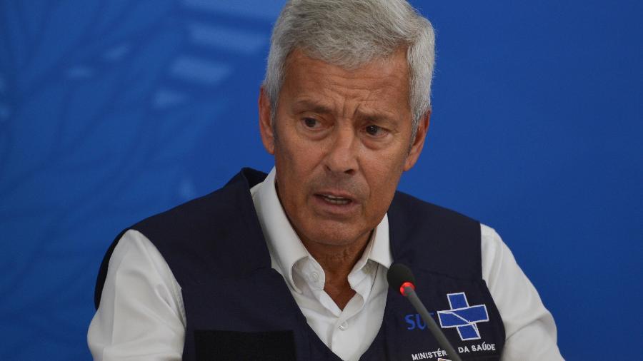 João Gabbardo era secretário-executivo do ex-ministro Luiz Henrique Mandetta - Marcello Casal Jr./Agência Brasil
