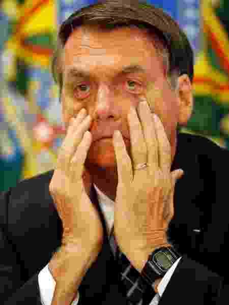 Presidente Jair Bolsonaro: sua carta é um recado para que aliados se acalmem. Medo de delação premiada - Jair Bolsonaro|Jorge William