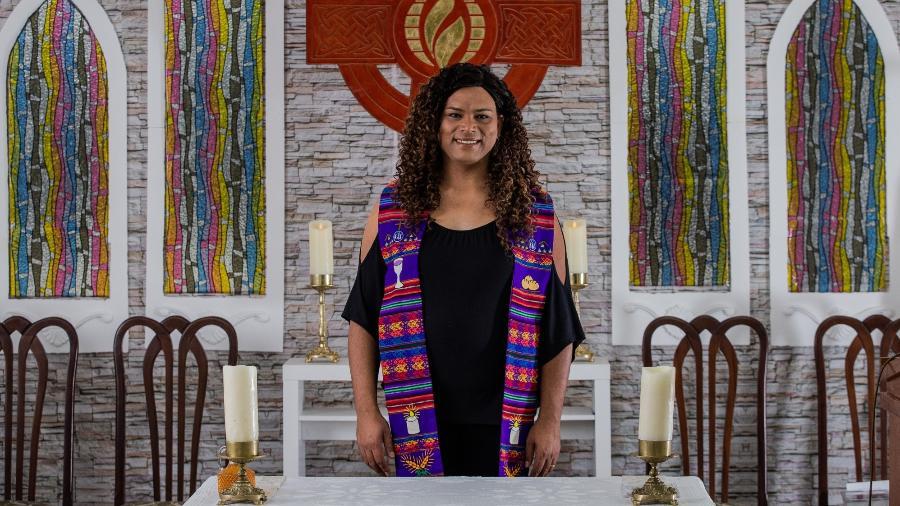 Alexya é professora, pastora trans e pré-candidata à Câmara Municipal de São Paulo - Eduardo Anizelli/Folhapress