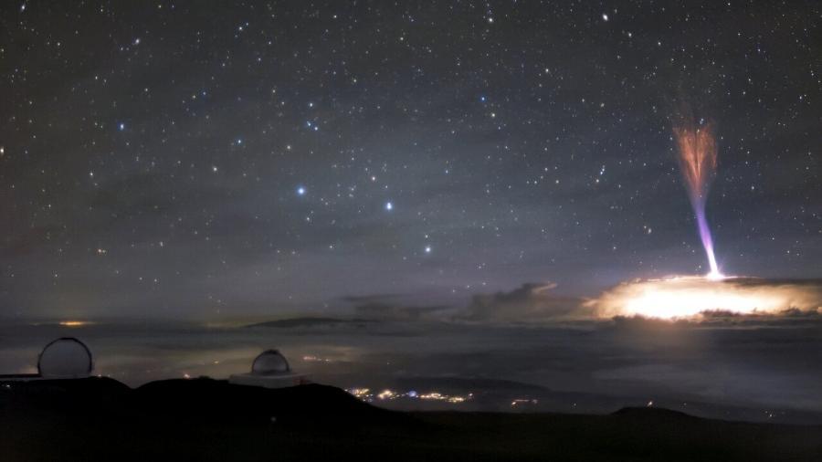 Fotografia foi tirada no Havaí, em 2017 - International Gemini Observatory/NOIRLab/NSF/AURA/A. Smith