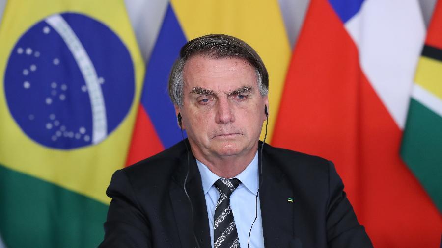 O presidente Jair Bolsonaro (sem partido) voltou a defender o uso de medicamentos sem eficácia comprovada contra a covid - Marcos Corrêa/Presidência da República