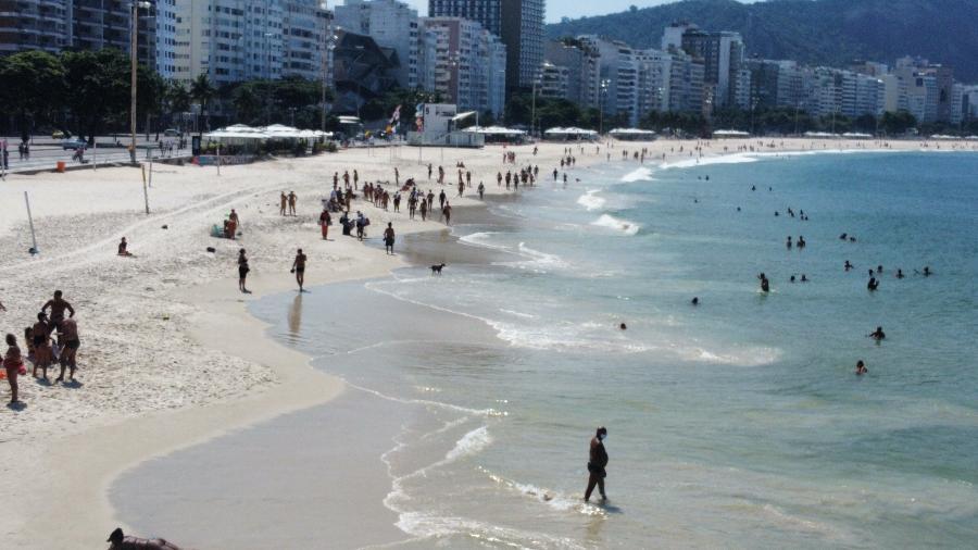 As praias do Rio de Janeiro continuam fechadas - Foto: LEO SALLES/PHOTOPRESS/ESTADÃO CONTEÚDO