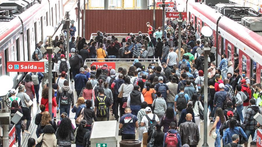SP: Metroviários decidem sobre greve hoje e podem parar à meia-noite - Bruno Escolastico/Photopress/Estadão Conteúdo