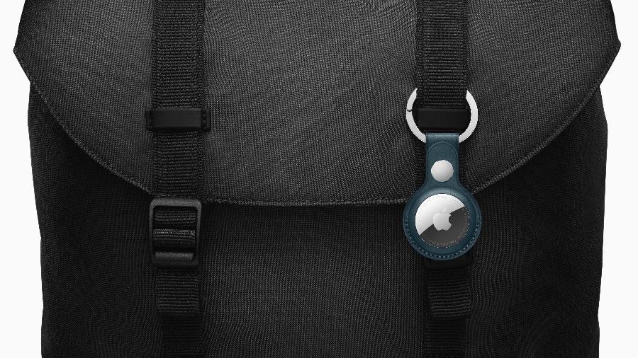 AirTag pode ser usado para localizar uma bolsa ou mochila, por exemplo - Divulgação/ Apple