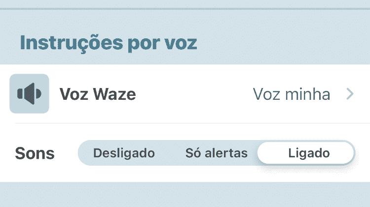 Waze: como mudar vozes iOS 4 - Reprodução - Reprodução