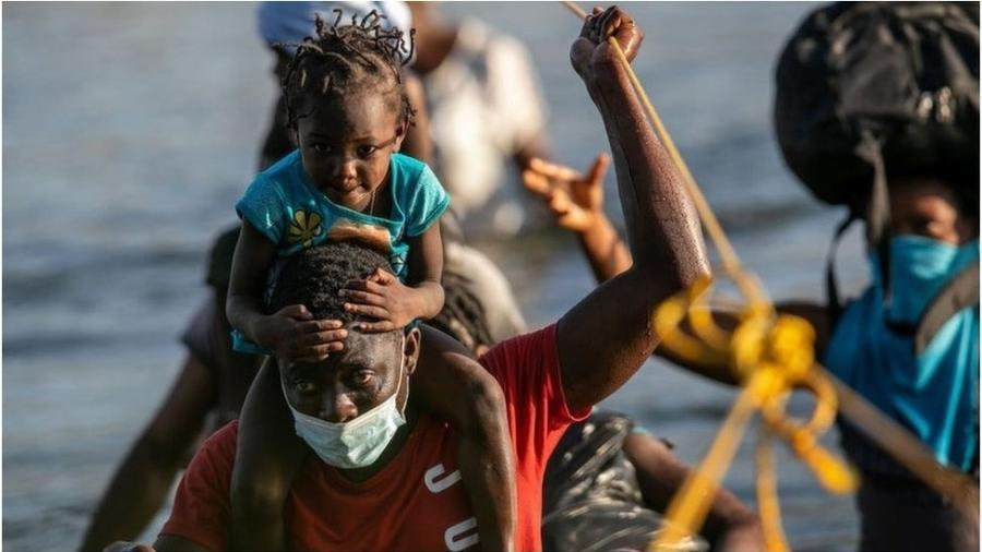 Haitianos dizem não querer voltar a seu país - Getty Images