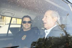 'Me mantiveram preso ilegalmente para que eu delatasse', diz José Dirceu (Foto: Dida Sampaio/Estadão Conteúdo)