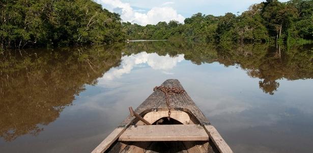 O rio Amazonas tem mais de 600 km e corta seis países (Peru, Bolívia, Venezuela, Colômbia, Equador e Brasil) antes de desaguar no oceano Atlântico - Peter McBride/National Geographic Creative