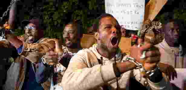 Manifestações em países africanos e europeus reclamavam ação contra o mercado de escravos - Fadel Senna/AFP Photo - Fadel Senna/AFP Photo