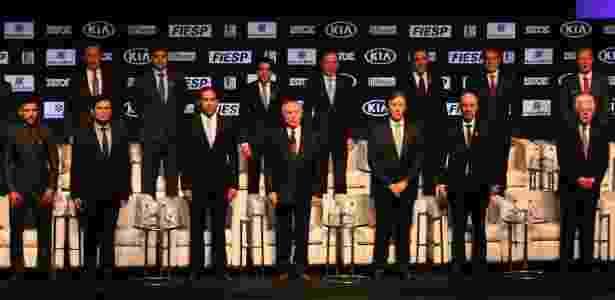 Moro dividiu palco, entre outros, com Temer, Moreira Franco, Eunício Oliveira e Henrique Meirelles - Charles Sholl/Raw Image