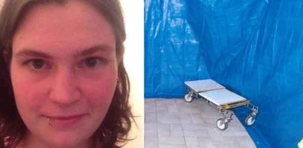 Jemma Lilley mantinha lonas e outros materiais na casa onde Aaron Pajich foi morto