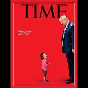 Capa da revista Time de julho de 2018 - Reprodução