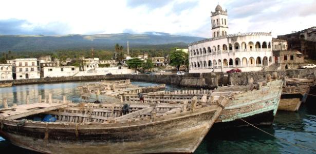 Vista do porto de Moroni, capital das Ilhas Comores, na África - Antony Njuguna/Reuters