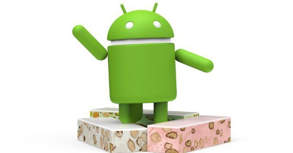 Logo do Android 7.0 ao 7.1.2 (Nougat), lançado em 22 de agosto de 2016