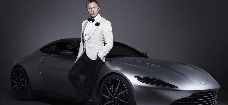"""Aston Martin DB10 usado por James Bond no filme """"007 Contra Spectre"""" - Reprodução"""
