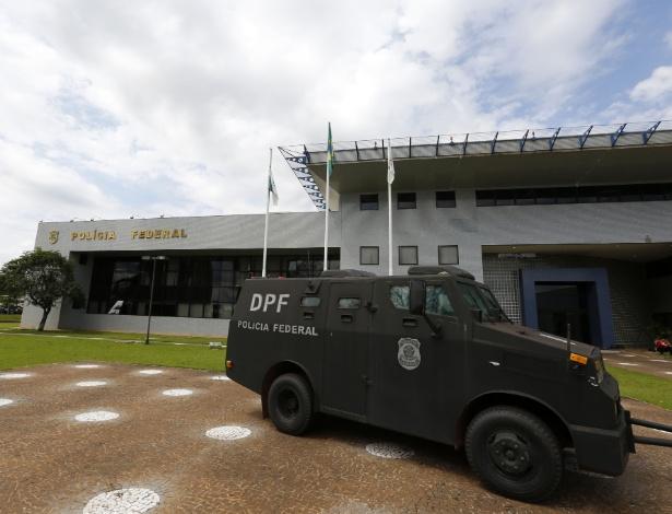 Fachada da sede da Policia Federal em Foz do Iguaçu (PR) onde está preso o libanês Assad Ahmad Barakat, acusado de ser o operador financeiro do grupo rebelde Hezbollah - Paulo Lisboa/Brazil Photo Press/Folhapress