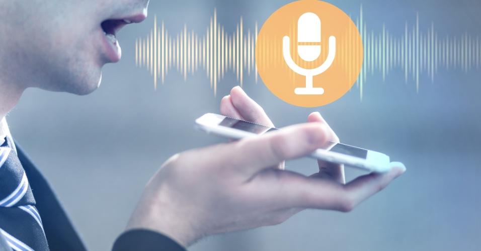 Assistente de voz no celular