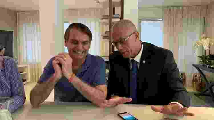 30.out.18 - Jair Bolsonaro se reuniu por duas vezes com o embaixador de Israel desde que eleito - Reprodução/Facebook/Israel no Brasil - Reprodução/Facebook/Israel no Brasil
