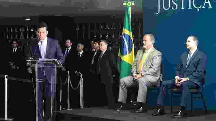 Sergio Moro toma posse no Ministério da Justiça - Kleyton Amorim/UOL