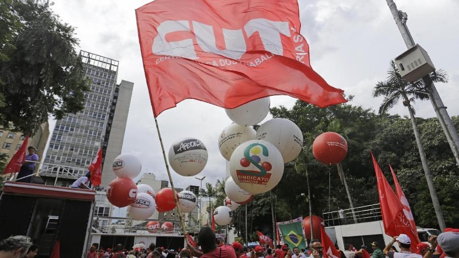 Vários sindicatos participam do movimento; a proposta será apresentada na próxima reunião do Fórum dos Servidores Públicos das Centrais Sindicais - Nelson Antoine/UOL