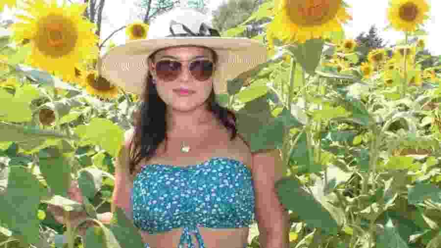 Nicole Caperilla, personal trainer nos EUA - Facebook