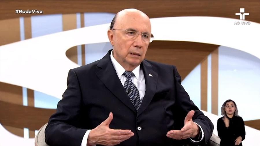 """Henrique Meirelles participa do programa """"Roda Viva"""", da TV Cultura - Reprodução/TV Cultura"""