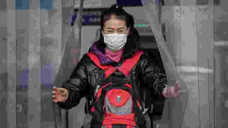 Medidas de contenção vem sendo adotadas em diversas regiões da China - AFP - AFP