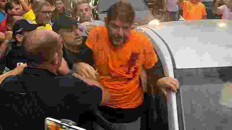 O senador Cid Gomes foi baleado com um tiro  na tarde de  quarta-feira (19)  - Sobral 24 HORAS