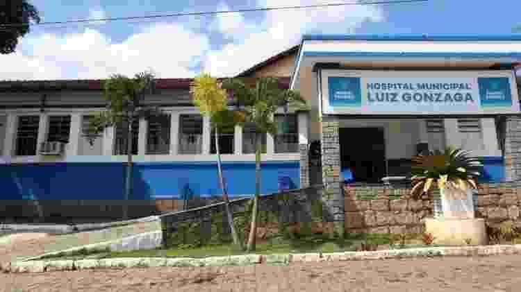 Fachada hospital Luiz Gonzaga - Prefeitura de Miguel Pereira - Prefeitura de Miguel Pereira