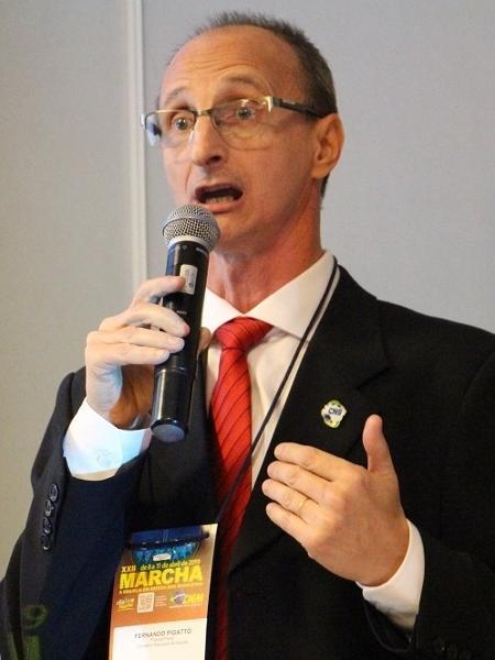 Fernando Pigatto, presidente do CNS (Conselho Nacional de Saúde) - Divulgação / CNS
