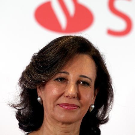 """""""A vacina é a política econômica mais importante para 2021"""", disse a presidente do Santander, Ana Patricia Botín - Reuters"""