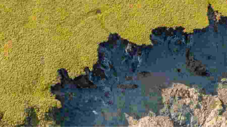 O rápido aumento das temperaturas no Ártico traz efeitos dramáticos - Alamy