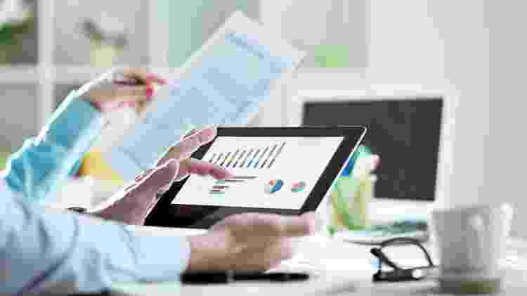 relatórios de negócios, demonstrações financeiras, escritório, investimentos - Getty Images/iStockphoto - Getty Images/iStockphoto